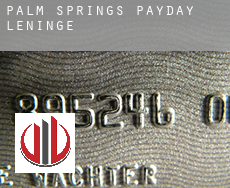 Palm Springs  payday leningen